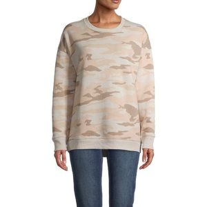 Perfectly Oversized neutral color Crew Sweatshirt